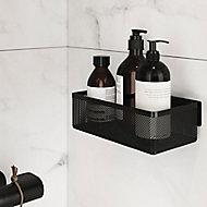 Panier de douche S noir Elland