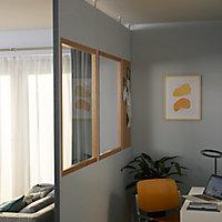 Panneau Alara blanc 100 x h.25 cm