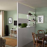 Panneau Alara blanc 50 x h.12,5 cm