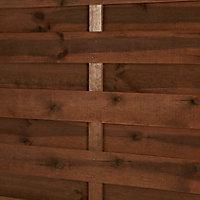 Panneau bois droit Blooma Oussouri 90 x h.180 cm