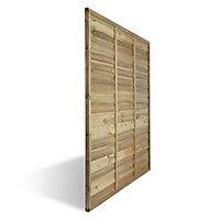 Panneau bois droit BLOOMA Salouen 183 x h.180 cm