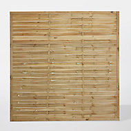 Panneau bois droit Khoper 180 x h.180 cm