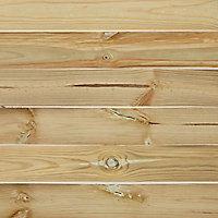 Panneau bois droit Khoper 90 x h.180 cm