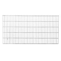 Panneau de clôture grillagée Blooma Koura gris 198,5 x h.103 cm