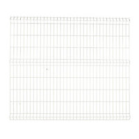 Panneau de clôture grillagée Blooma Louga blanc 198,5 x h.173 cm