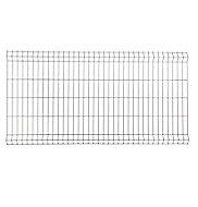 Panneau de clôture grillagée Blooma Louga gris 198,5 x h.103 cm