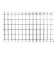 Panneau de clôture grillagée Blooma Louga gris 198,5 x h.123 cm