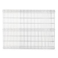 Panneau de clôture grillagée Blooma Louga gris 198,5 x h.153 cm