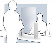 Panneau de protection en verre à poser Format