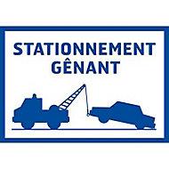 """Panneau de signalisation """"Stationnement gênant"""" Chapuis"""