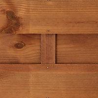 Panneau droit bois Blooma Arve marron 30mm 90 x h.180 cm