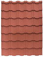 Panneau Easy-Tuile rouge - 113,5 x 86 cm
