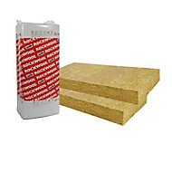 Panneau isolant Rockfaçade ép.130mm (vendu lot de 5 panneaux)