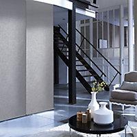 Panneau japonais uni gris 45 x 260 cm