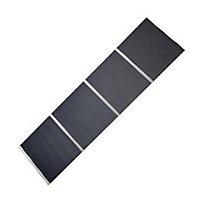 Panneau japonais Voile gris 45 x 260 cm