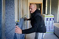 Panneau laine de coton recyclé Metisse - 0,6 x 1,2 m ép.100 mm R. 2,55 m²K/W