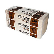 Panneau laine de verre et fibres de bois Isover Isoduo 36 - 0,6 x 1,2 m ép.145 mm (vendu lot de 4 panneaux)