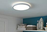 Panneau LED intégrée Ø29,4cm 1700lm 18W IP20 variable blanc neutre blanc