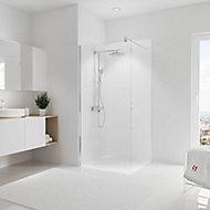 Panneau mural salle de bains 90 x 210 cm, Schulte DécoDesign Couleur, blanc