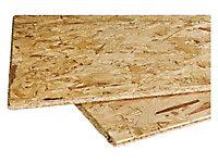 Panneau OSB 2 -EN300 - Cityboard 15 mm, dim. 1690 x 634 mm