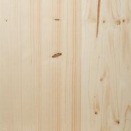 Panneau à placage collé bord carré avec nœud 30 x 200 cm, ép.1,8 cm