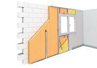 Panneau polystyrène extrudé emboîtable multi-usage Soprema 125 x 60 cm ép. 30 mm R. 0,90 m²K/W (vendu au panneau)