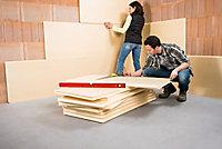 Panneau polystyrène extrudé emboîtable multi-usage Soprema 125 x 60 cm ép. 80 mm R. 2,25 m²K/W (vendu au panneau)