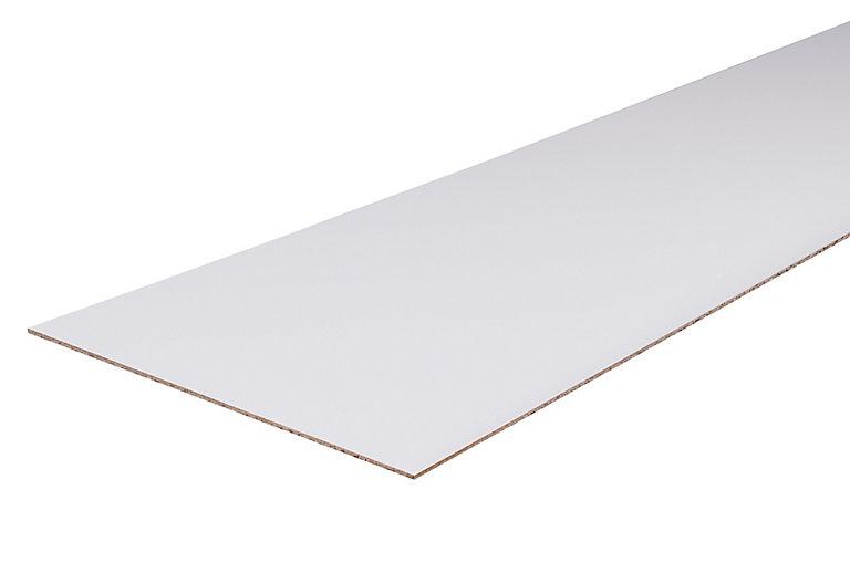 Panneau Sans Bord Blanc 250 X 125 Cm Ep 8 Mm Castorama