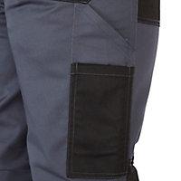 Pantalon à poches multiples Harrier gris Site taille 48