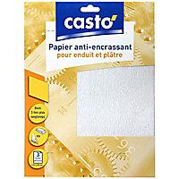 Papier anti-encrassant moyen pour enduit et plâtre