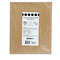 Papier de verre 230 x 280 mm - Grain 180 , 15 pièces