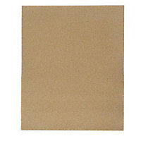 Papier de verre 230 x 280 mm - Grain 80, 15 pièces