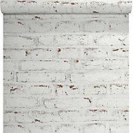 Papier Peint Bouleau Beige Nacre Castorama