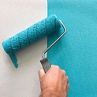 Papier peint dupplex vinyle sur intissé Wampi blanc