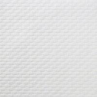 Papier peint expansé vinyle sur intissé Rivina brique GoodHome blanc