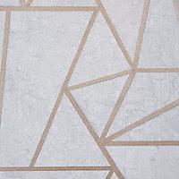 Papier peint GoodHome Lertif béton rose gold