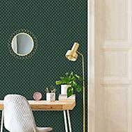 Papier peint intérieur Lyrata vert