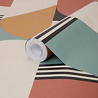 Papier peint Intissé Coyrein 1005x53cm GoodHome Multicolore