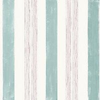 Papier peint intissé GoodHome Eulophia vert et rose