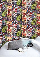 Papier peint intissé GoodHome Heimia multicolore