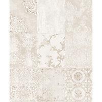 Papier peint intissé GoodHome Meral beige 53cm