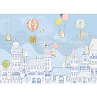 Papier peint panoramique Dooftop ralley 350 x 250 cm
