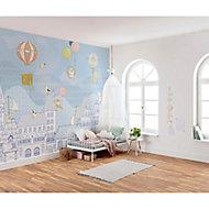 Papier peint panoramique Dooftop ralley 350x250cm
