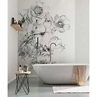 Papier peint panoramique Embroisery 184x248cm