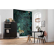 Papier peint panoramique Jungle night 200x250cm