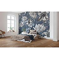 Papier peint panoramique Merian blue 350 x 250 cm