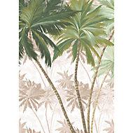 Papier peint panoramique Palmera 200x280cm Komar