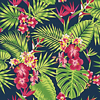 Papier peint vinyle grainé sur intissé Superfresco Tropical fever