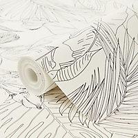 Papier peint vinyle intissé texturé GoodHome Oophoric