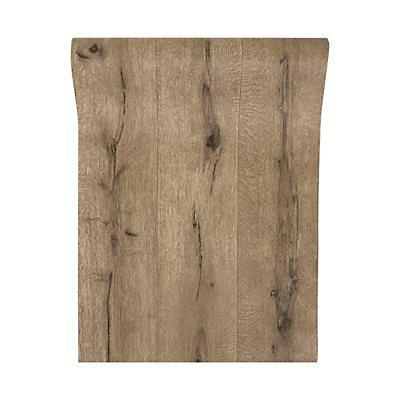 Papier Peint Vinyle Sur Intisse Bois Gris Castorama